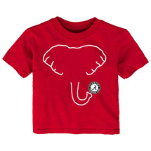 Alabama Crimson Tide Elephant Baby/Toddler T-Shirt