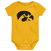 Iowa Hawkeyes LOGO Baby Bodysuit - GOLD