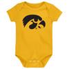 Iowa Hawkeyes LOGO Baby Bodysuit - GOLD