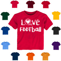 Love Football Baby-Toddler T-Shirt
