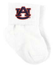 Auburn Tigers Baby Sock Booties