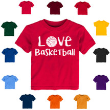 Love Basketball Baby-Toddler T-Shirt