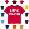 Love Baseball Baby-Toddler T-Shirt