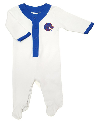 Boise State Broncos Baby Long Sleeve Athletic Playsuit