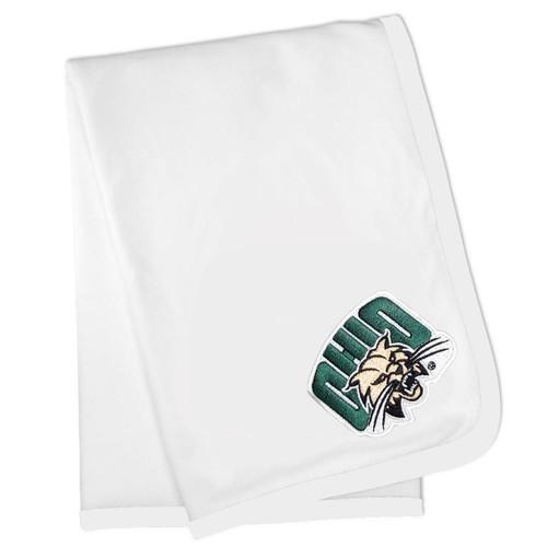 Ohio Bobcats Baby Receiving Blanket