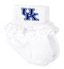 Kentucky Wildcats Baby Laced Sock Booties