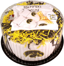 Iowa Hawkeyes Baby Fan Cake Clothing Gift Set