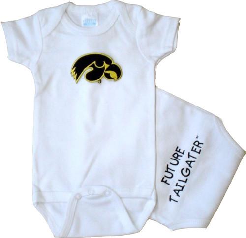 Iowa Hawkeyes Future Tailgater Baby Onesie