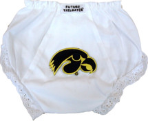 Iowa Hawkeyes Eyelet Baby Diaper Cover