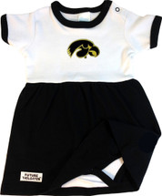 Iowa Hawkeyes Baby Onesie Dress