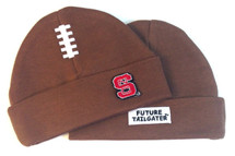 NC State Wolfpack Baby Football Cap