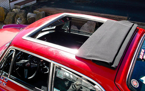 MGB GT Sliding Ragtop Sunroof