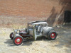 "28-31 Ford Model A Coupe Sliding Ragtop 40""x40"" Installed Open"