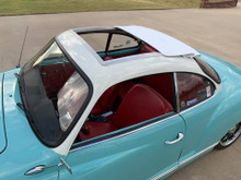 VW Karmann Ghia Sliding Ragtop