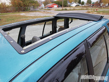 88-91 Honda Civic Wagon (Wagovan) Sliding Ragtop Folding Sunroof Kit