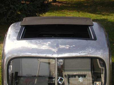 "Rat Rod (Ratrod) Truck Sliding Ragtop 40""x25"" Installed"