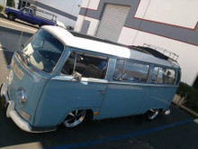 "68-79 VW Bus 40""x100"" Sliding Ragtop Folding Sunroof Kit (Roof)"