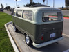"68-79 VW Bus 40""x100"" Sliding Ragtop Folding Sunroof Kit Ragtop Rear View"