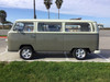"68-79 VW Bus 40""x100"" Sliding Ragtop Folding Sunroof Kit Ragtop Side View"