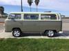 "68-79 VW Bus 40""x100"" Sliding Ragtop Folding Sunroof Kit Ragtop Side View"