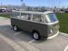 "68-79 VW Bus 40""x100"" Sliding Ragtop Folding Sunroof Kit Ragtop Top View"