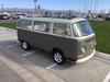 "68-79 VW Bus 40""x100"" Sliding Ragtop Folding Sunroof Kit Ragtop Top View"
