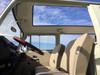 "68-79 VW Bus 40""x100"" Sliding Ragtop Folding Sunroof Kit Ragtop Interior Shot"