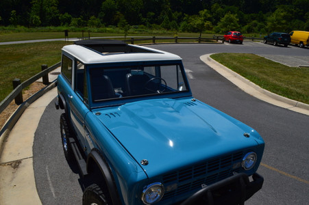 1966-1977 Ford Bronco Sliding Ragtop Folding Sunroof Kit - Legacy Products