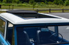 1966-1977 Ford Bronco Sliding Ragtop Folding Sunroof Kit Open Close Up