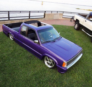 Sam's Mazda B-Series W/ Our 40x40 Sliding Ragtop Sunroof