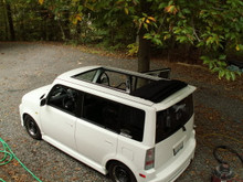 "2000-2007 Scion XB & BB 40x70"" Sliding Ragtop Sunroof"