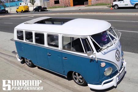 """1950-1967 VW Bus 46""""x72"""" OE Size Sliding Ragtop"""