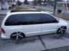 "1996-2007 Dodge Caravan 35""  x  70"" Sliding Ragtop Folding Sunroof Kit Side View"