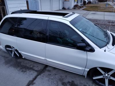 "1996-2007 Dodge Caravan 35""  x  70"" Sliding Ragtop Folding Sunroof Kit"