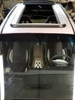 "1996-2007 Dodge Caravan 35""  x  70"" Sliding Ragtop Folding Sunroof Kit Open"