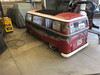 "68-79 VW Bus 44""x72"" Early Size Sliding Ragtop Closed View"