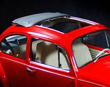 VW Beetle 1953-1976 (Type 1) 2 Fold Sliding Ragtop Open