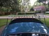 1953-1976 VW Beetle Sliding Ragtop Sunroof Kit Closed Rear View
