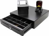 Thermal Printer Cash Drawer and desktop scanner hardware pack.
