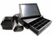"""15"""" Touch Screen Monitor, Thermal Printer, Scanner, Cash Drawer"""