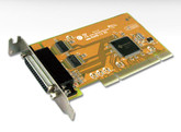 Sunix Multi I/O Low Profile PCI Card - 2 RS-232 Serial