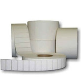 Barcode Labels 40mm x 46mm x 40mm Core. 1200 Labels per roll.