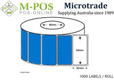 Direct Thermal Labels 50x92