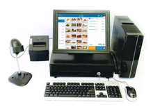 "Point of Sale System with 15"" Touch Screen monitor"
