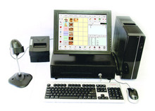 POS System with 15 inch touch screen