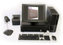 """MYOB Retail Manager Point of Sale System with 15"""" Touch Screen"""