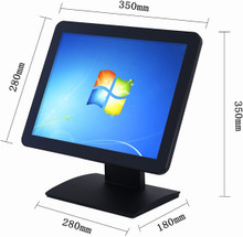"15"" Capacitive Touch Screen POS LCD Monitor"