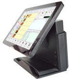 "Point of Sale 15"" Capacitive Touch Screen Terminal. Spill Resistant. WIFI/Bluetooth MPOS-214BDC."