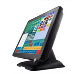 "POS Terminal 15"" Capacitive  Fanless Touch Screen. Spill Resistant."