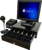 Point of Sale All in one POS Terminal with all hardware Win10
